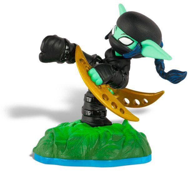 Skylanders Swap Force Stealth Elf ToyPintandoUnaMama