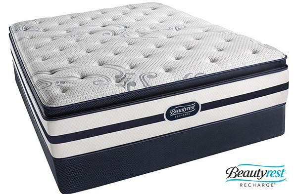 Special Offer What Are The Features Of Simmons Beautyrest Recharge Glimmer Plush Pillow Top Mattress Pocketed Coil Gel Memory Foam Queen Box Set New