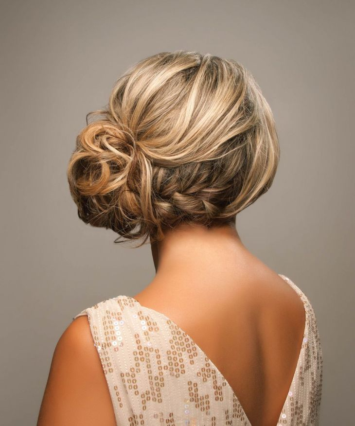 Braided Side Updo Hair and beauty Pinterest Updo Wedding and