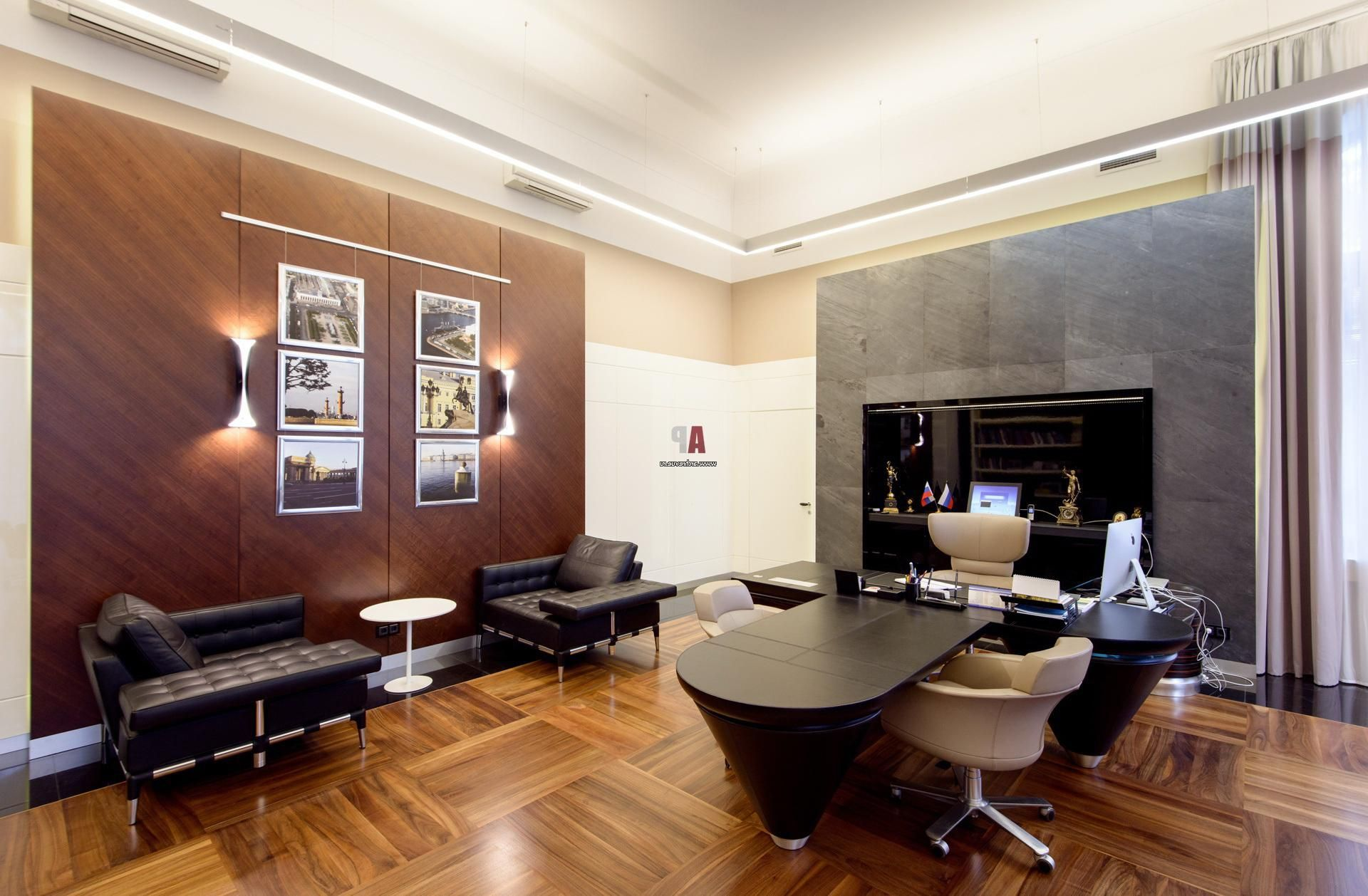 white beige and brown grey panel colors for modern office on color schemes for an office id=54508