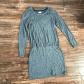 Lou u grey u signature soft long sleeve dress sleeved dress gray