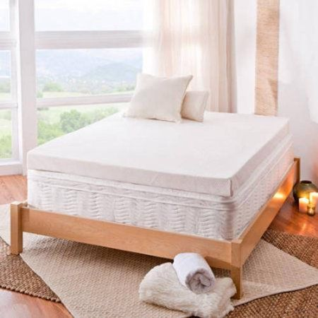 Spa Sensations 4 Memory Foam Mattress Topper Multiple Sizes From Bought Twin And Full For The Kids Bunk Room Beds