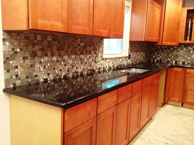 backsplash edge countertop cabinet - Google Search ... on Kitchen Backsplash Ideas With Black Granite Countertops  id=45379