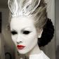 Snow queen makeup sfx halloween beautiful pinterest