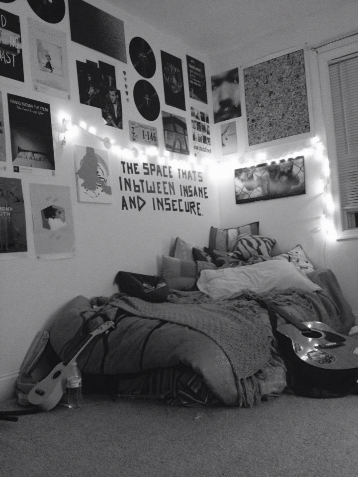 My Room In My Apartment Grunge Bedroom Rage And Love