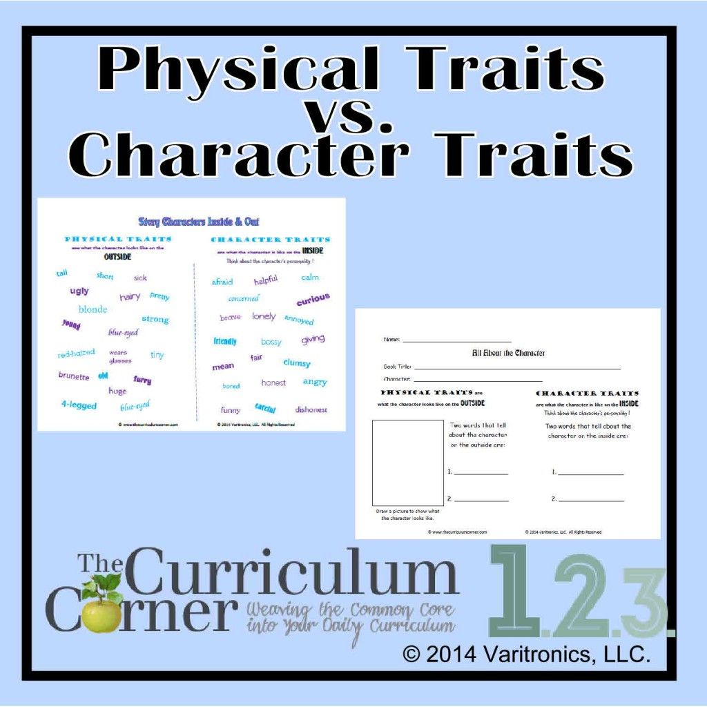 Physical Traits Vs Character Traits