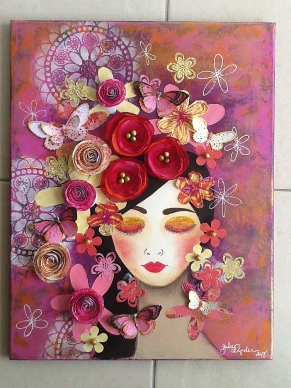 Made-By-Me....Julie Ryder | Wall art | Pinterest | Mixed ...