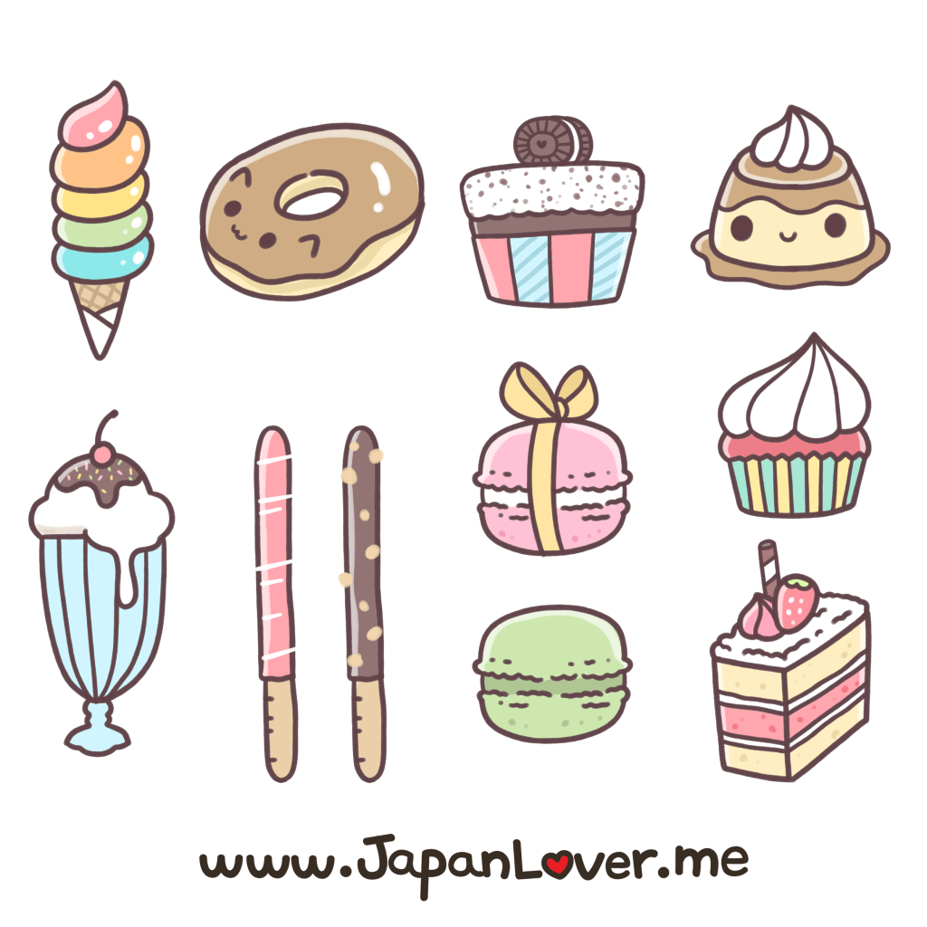 Free Kawaii Sticker Printables