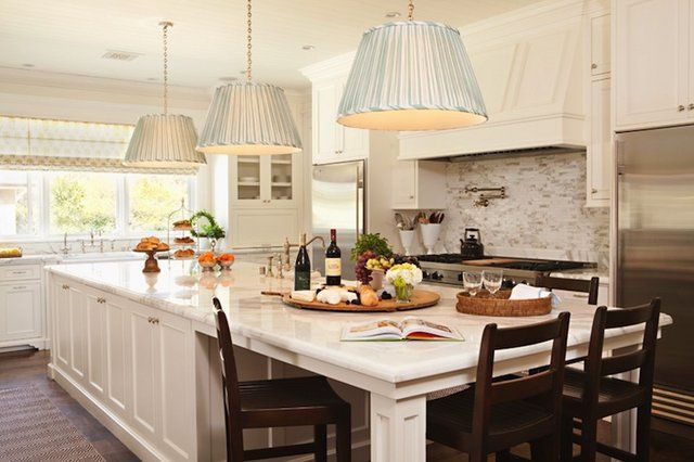 kitchen island with built in dining table brilliant i d need to change out those lighting on kitchen island ideas eat in id=91981