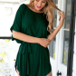 Most wanted this green tshirt dress features waist strap short