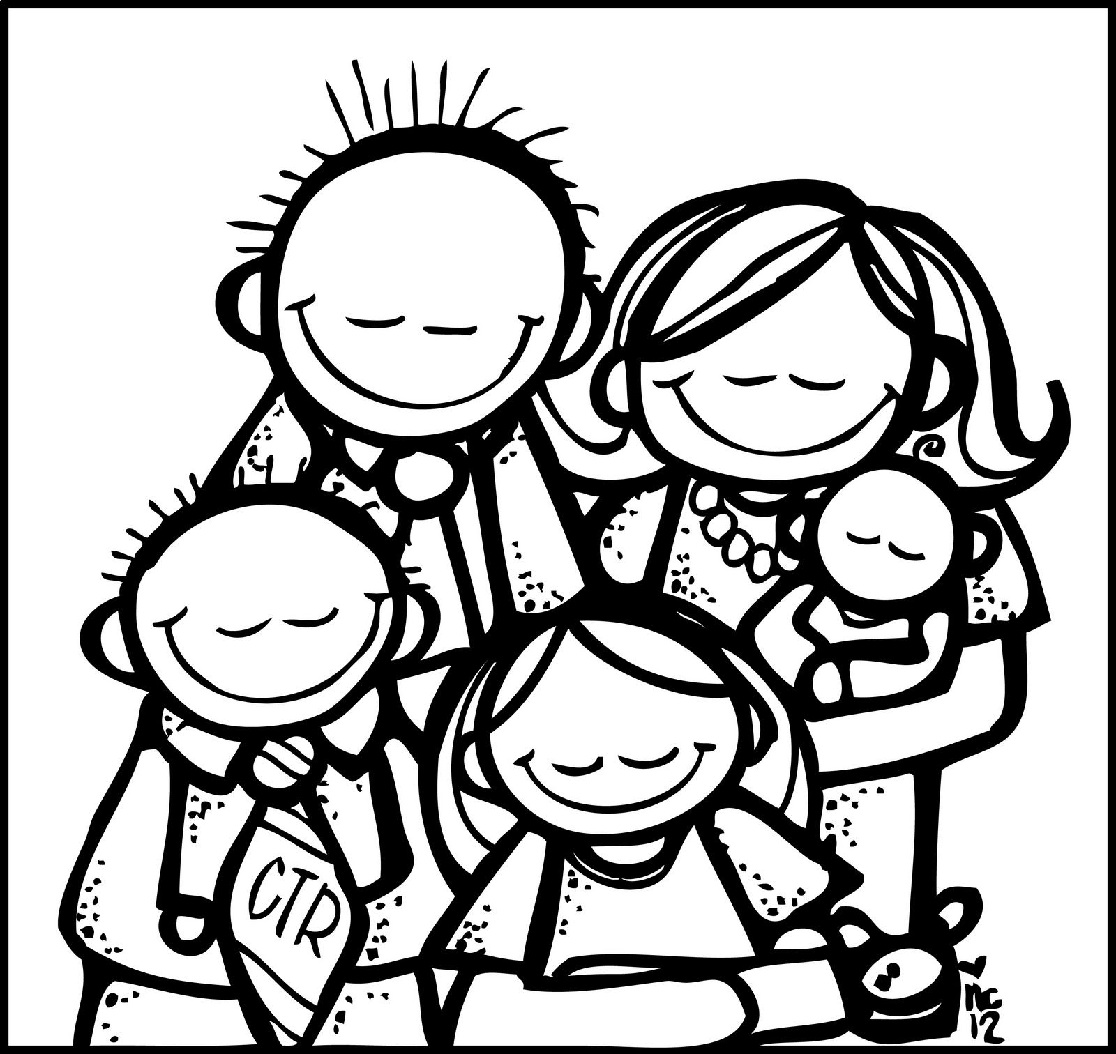 Melonheadz Lds Illustrating Family Prayer