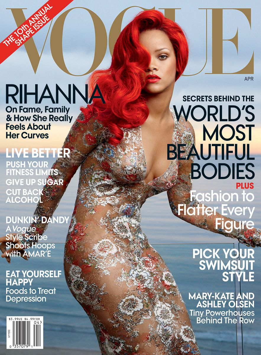 Image result for Rihanna Covers American #Vogue