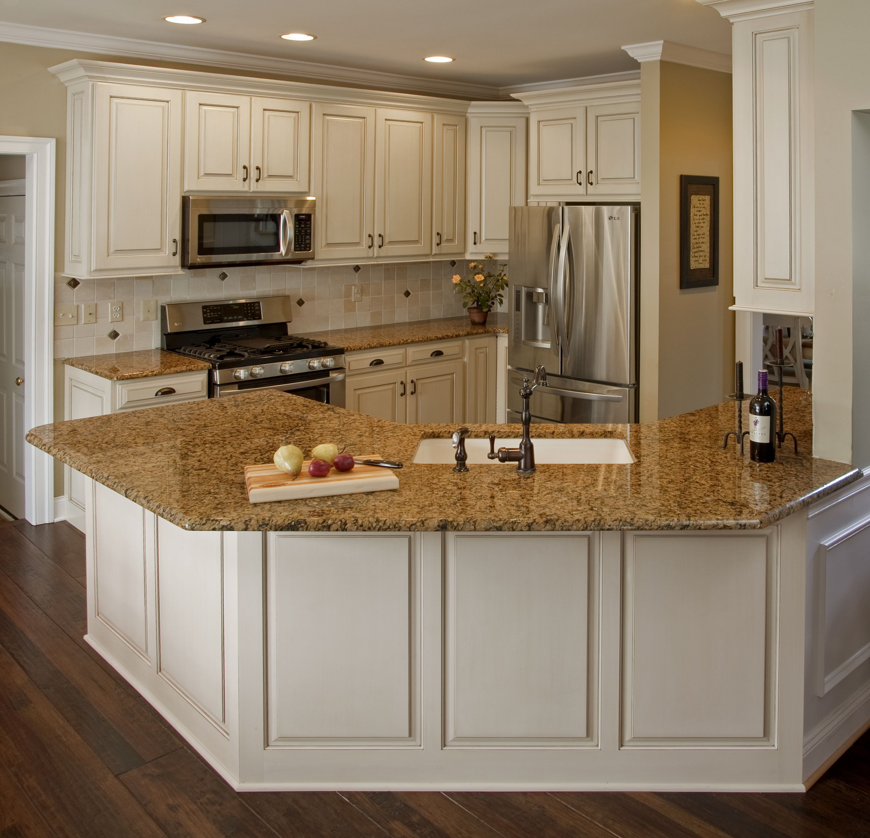Best Kitchen Gallery: Inspiring Kitchen Decor Using Cabi Refacing Cost On Budget of How Much To Refinish Kitchen Cabinets on cal-ite.com