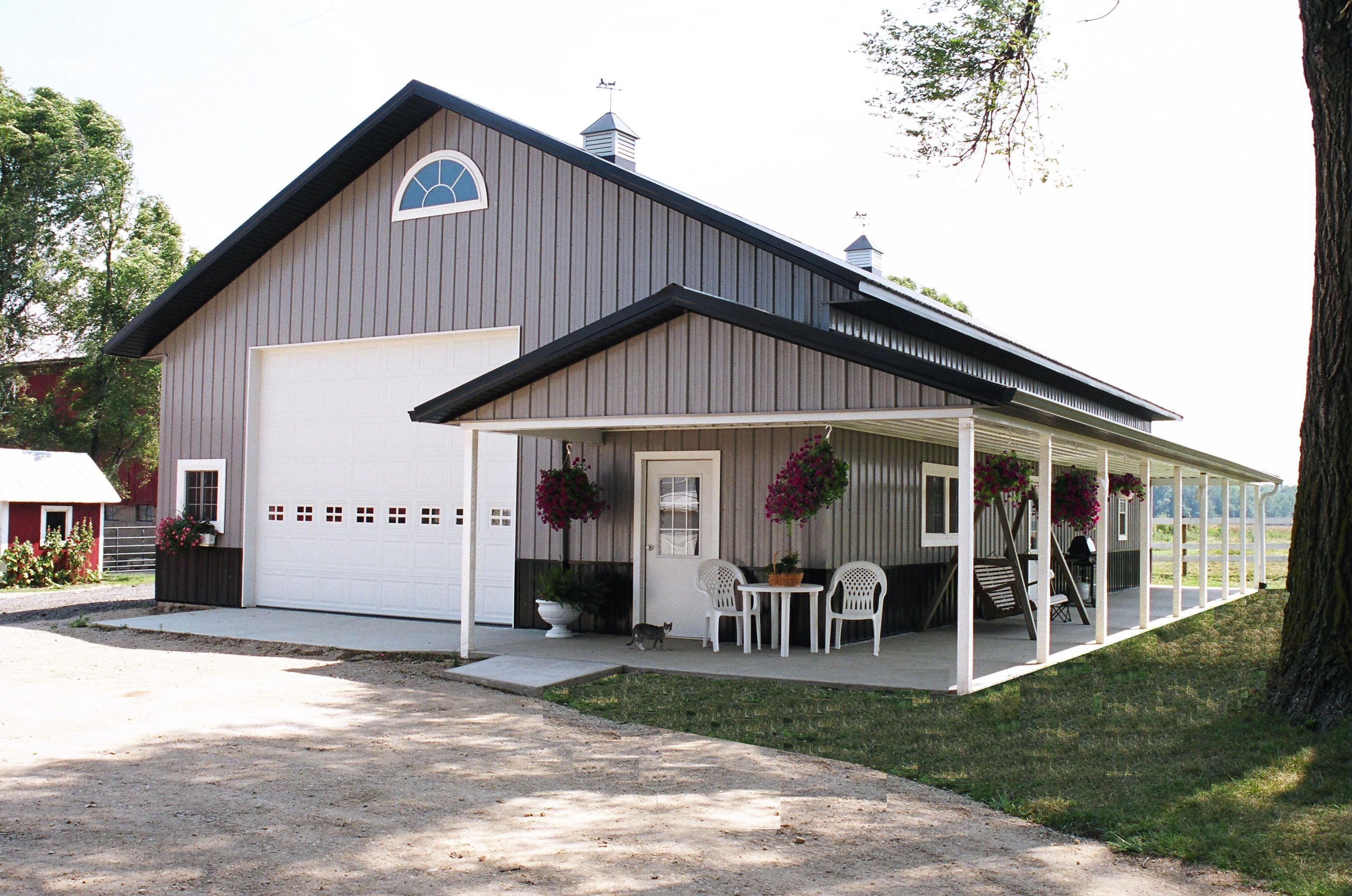 Pole Barns On Pinterest Pole Barns Metal Buildings And