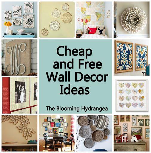 cheap free wall decor ideas roundup idea frame series on wall art decor id=42460