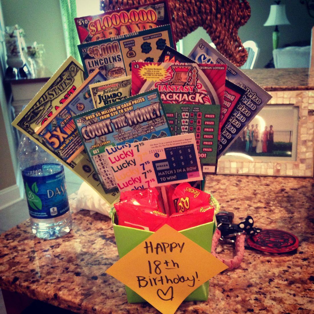 18th birthday gift scratchoffs parties gift ideas