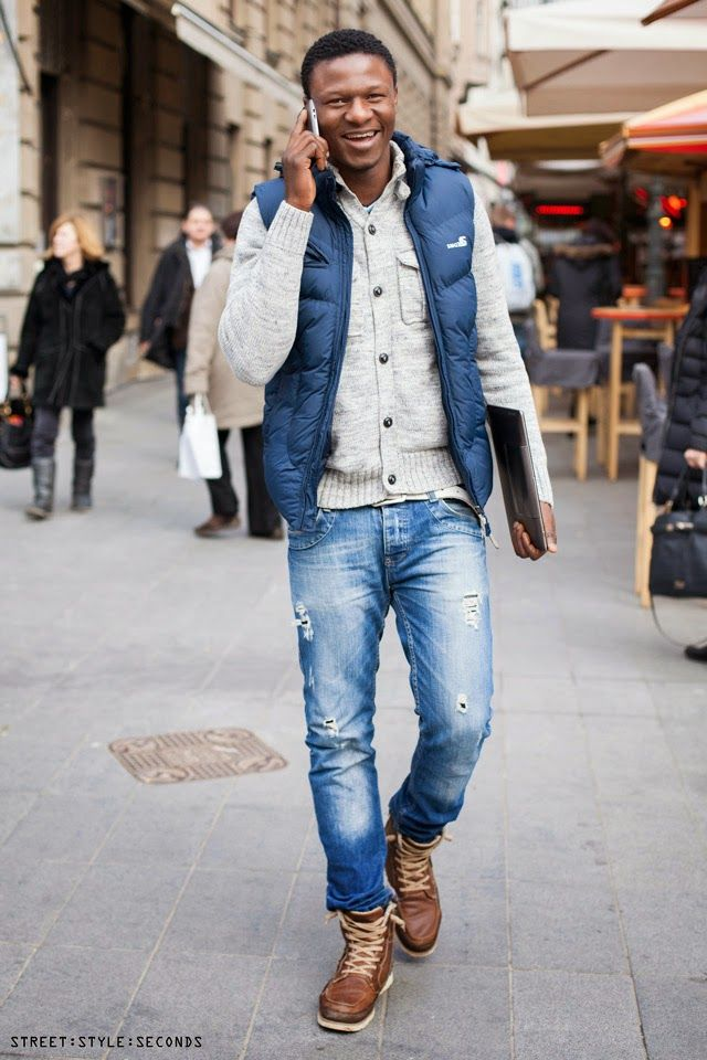 Street Style Inspirations How To Wear Gilet Mens Urban