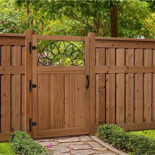Wooden Garden Gate Design Plans - Photo Trend & Ideas