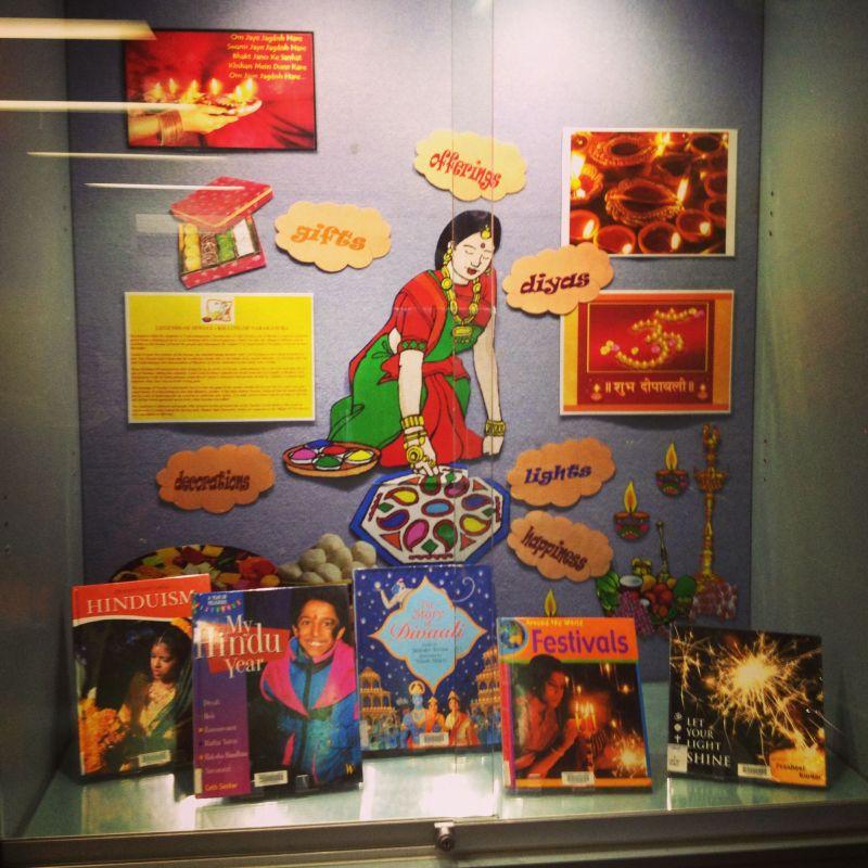 Classroom Door Decoration Ideas For Diwali ~ Bulletin board decoration for diwali