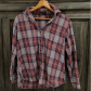 Flannel shirt bag  Brandy Melville plaid flannel button down shirt  Camisas Franelas