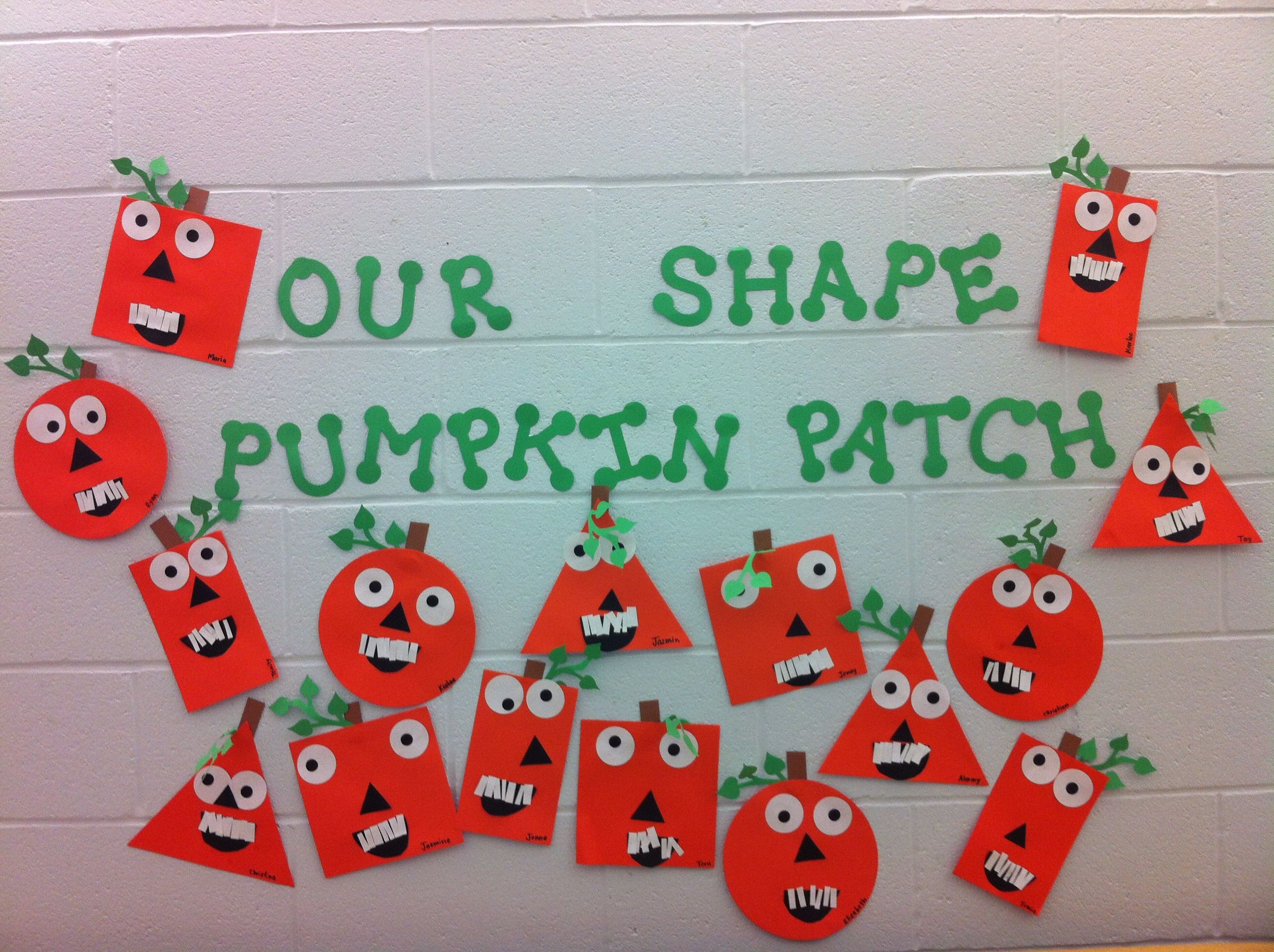 We Made Different Shaped Pumpkins After Reading Spookley