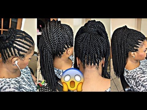 BEST BRAIDING PATTERN 4 Crochet PONYTAIL YouTube