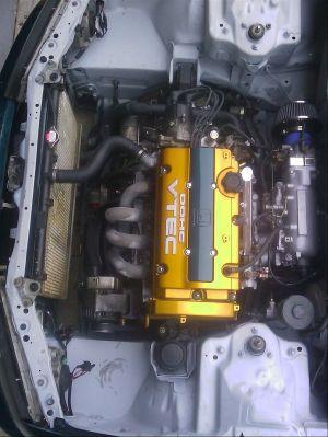 93 Honda Accord CB7 engine bay wire tuck Super clean!!   JDM HONDA ️   Pinterest   Honda accord