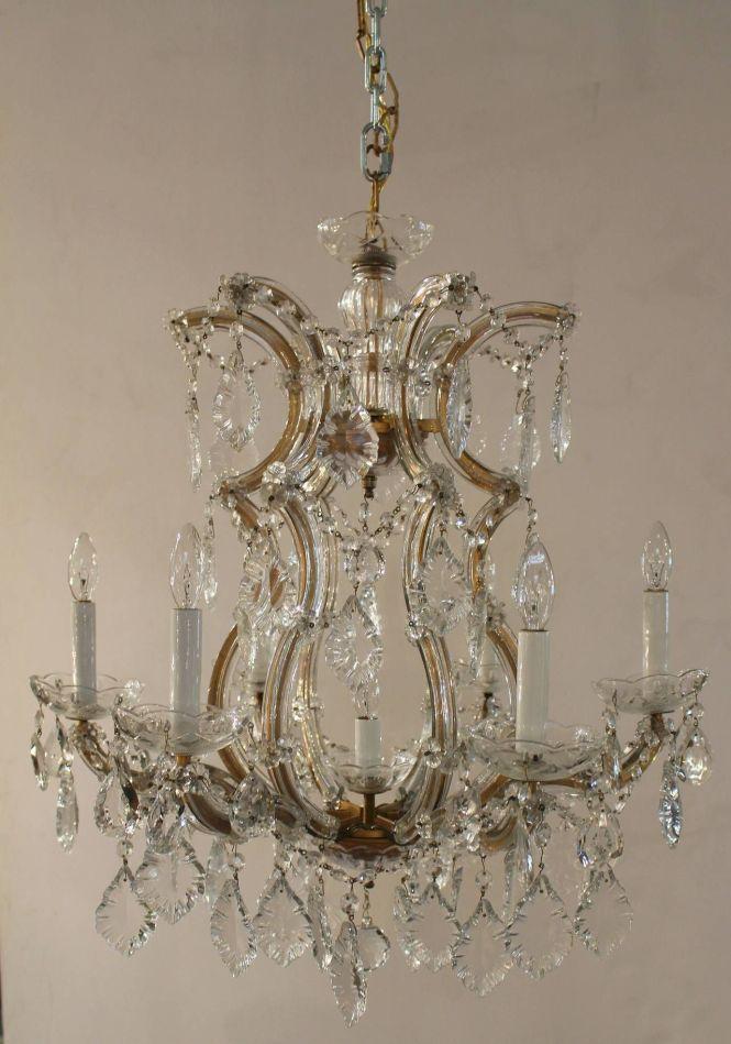 Maria Theresa Seven Light Chandelier