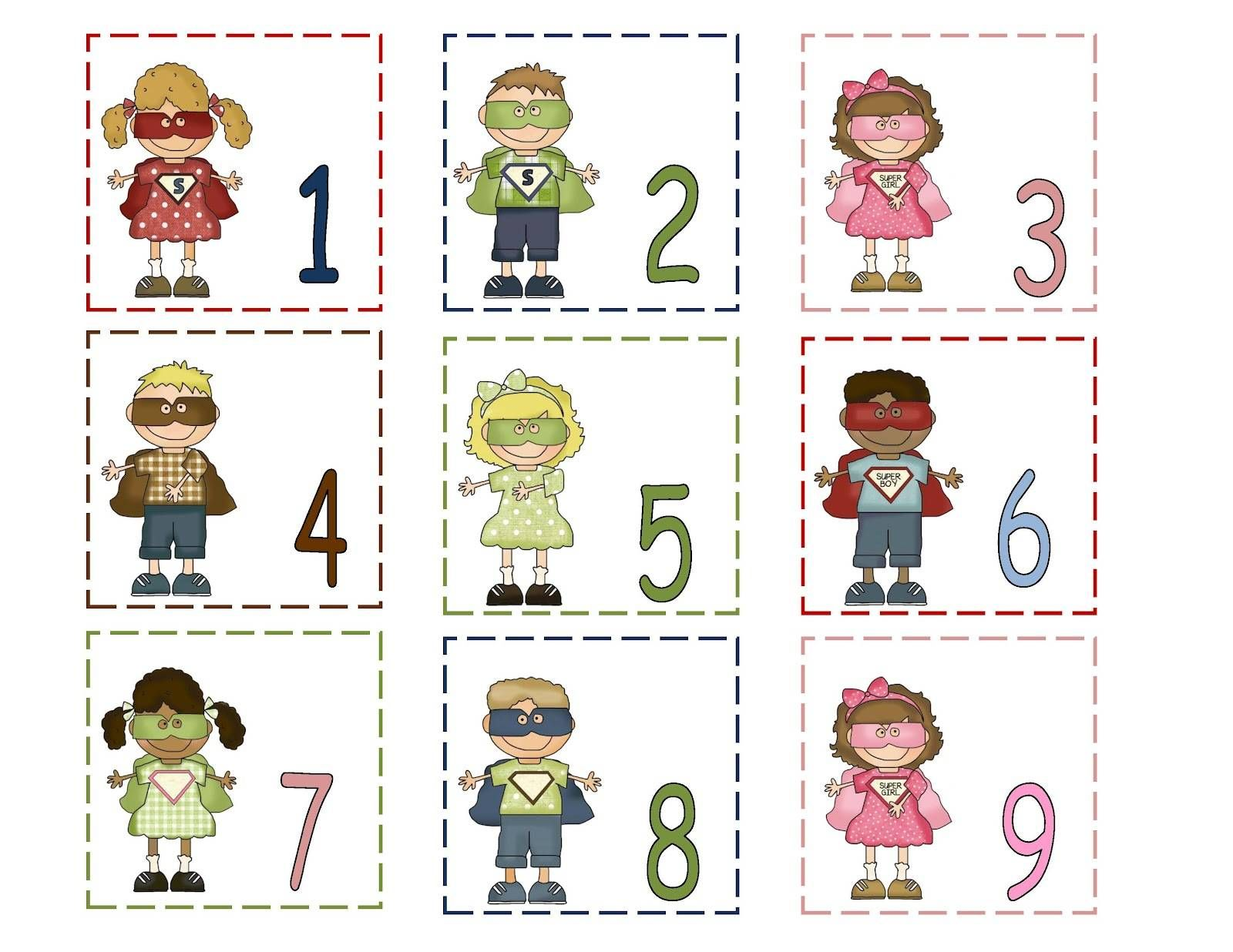 Free Printable Calendar Numbers 1 31