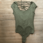 Lace up back bodysuit  NWT Free People All About The Back Bodysuit  Bodysuit Free people