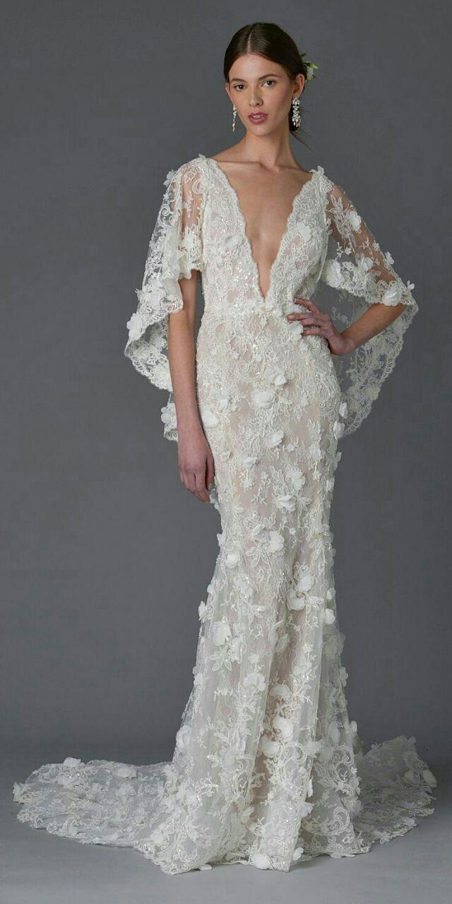 Marchesa  Love this  BRIDAL u WEDDING  Pinterest  Wedding dress