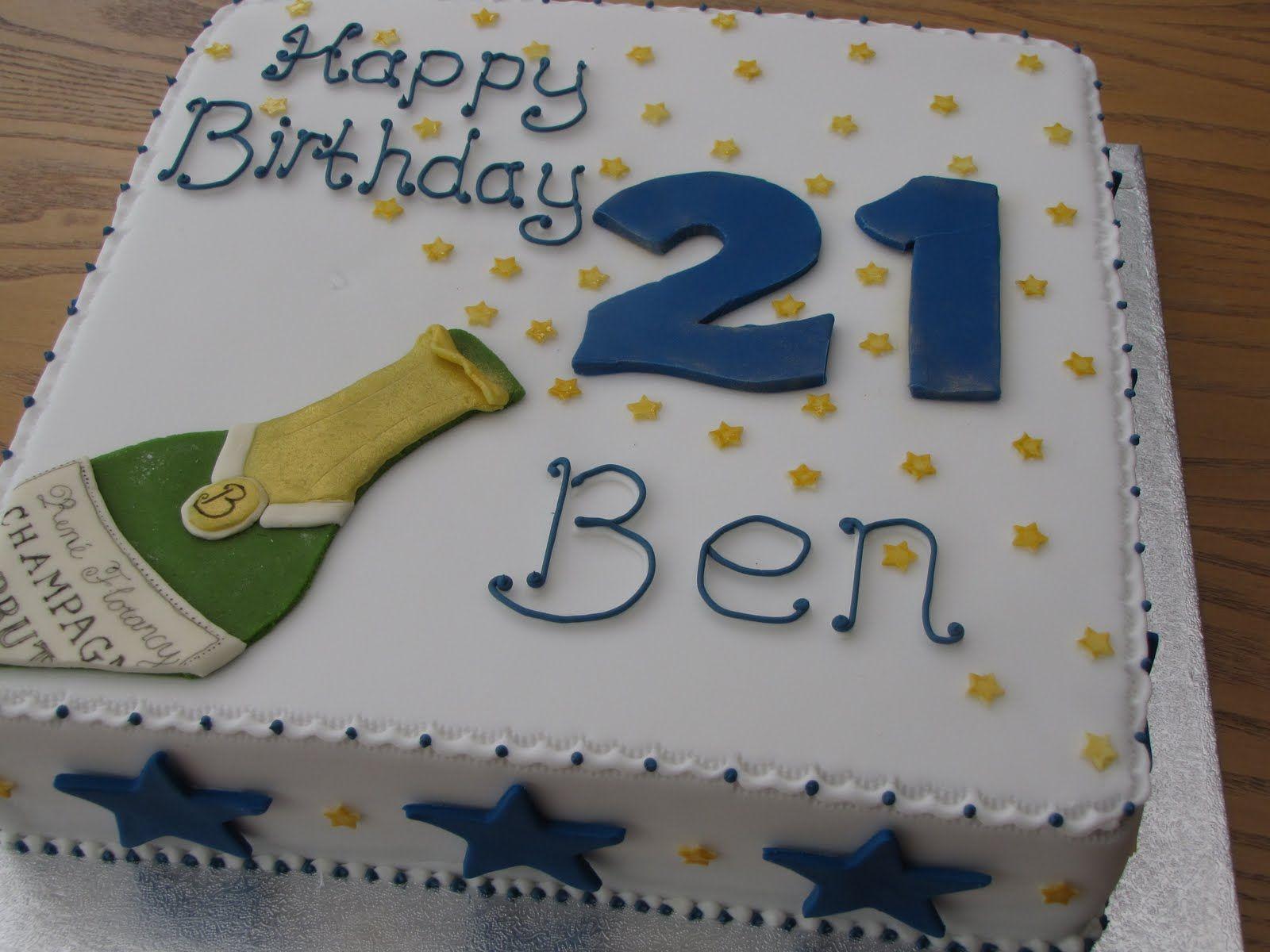 21st Birthday Cakes For Guys