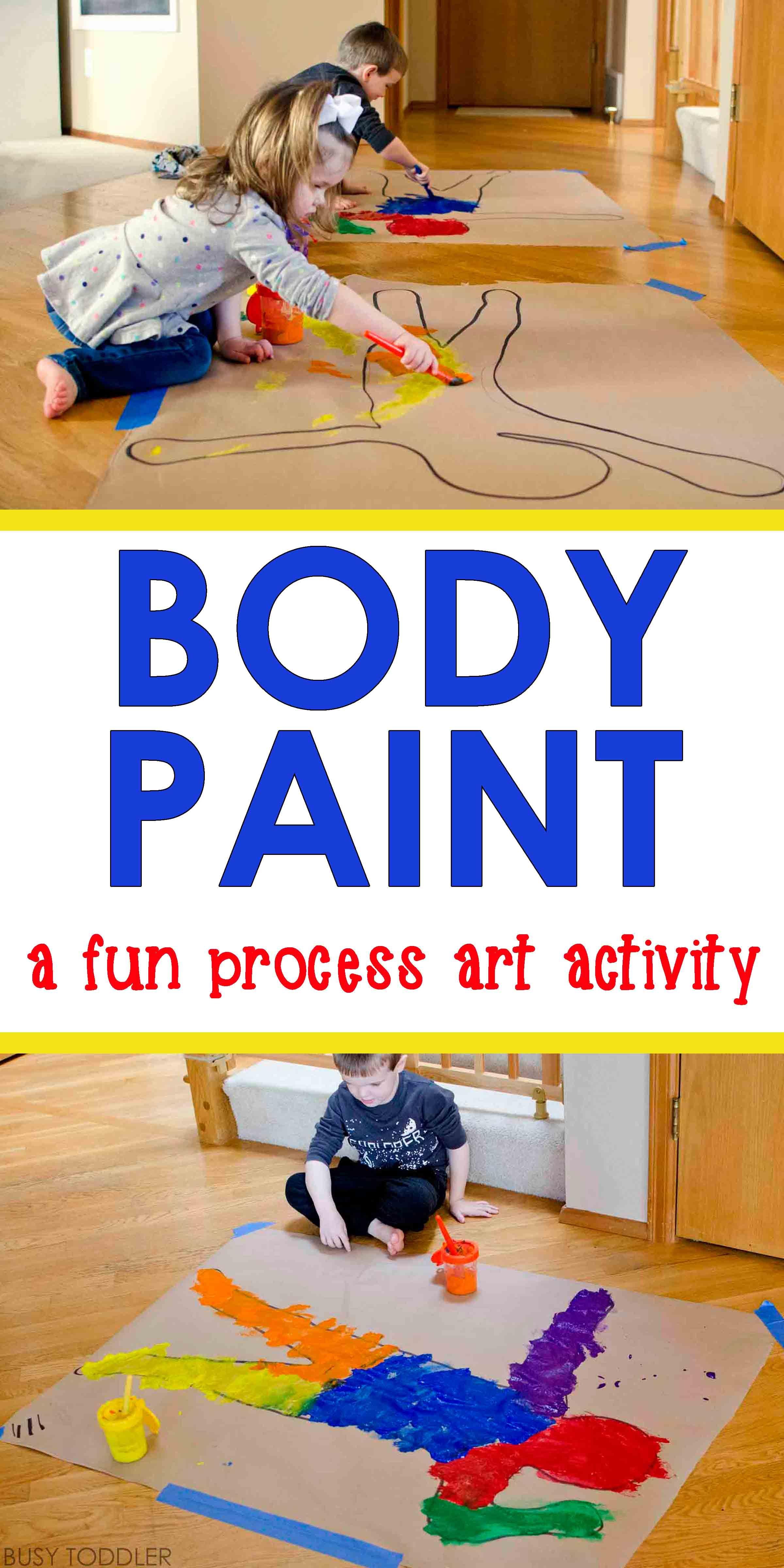 Body Paint Process Art