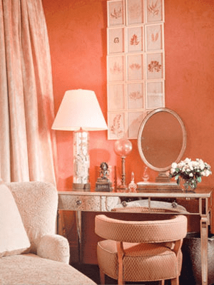 color peach things |  your spouse will stray? re-paint your