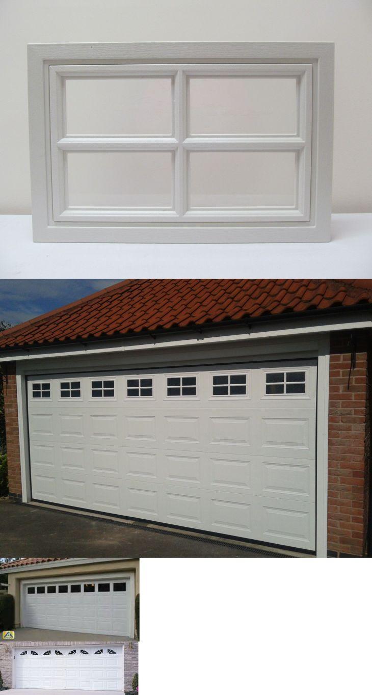 Garage Door Parts and Accs Garage Door Windows Real Windows