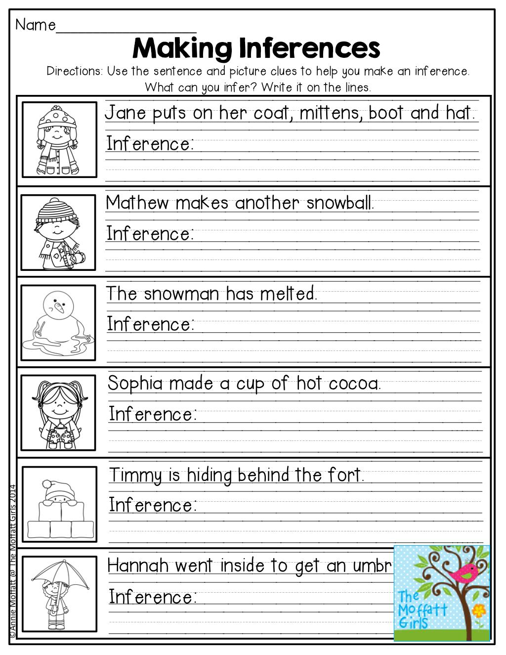 January No Prep Math And Literacy 2nd Grade