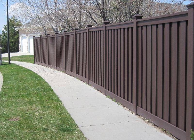 Garden Uv Resistance #composite #fence, Riyadh Composite