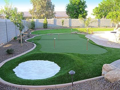 Putting Green Photos: Putters Edge Putting Greens ... on Putting Green Ideas For Backyard id=35085
