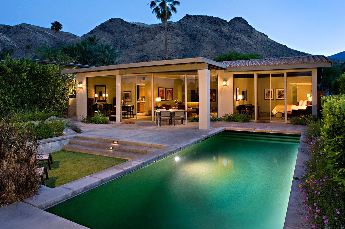 Best Kitchen Gallery: Smokewood Villa California Desert Cities Outdoor Patio Pool of Villas In California on rachelxblog.com