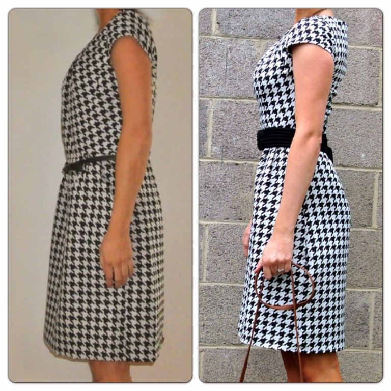 Resultado de imagen de before and after tailoring a dress