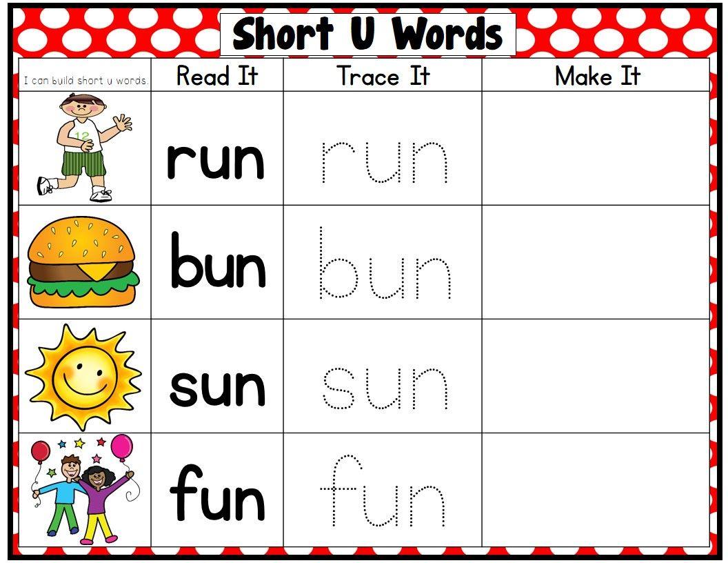 Great Practice For Short Vowel Cvc Words