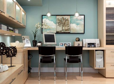 divine design turquoise blue modern office design desk on best wall colors for offices id=39924