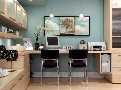 divine design turquoise blue modern office design desk on good office wall color id=85142