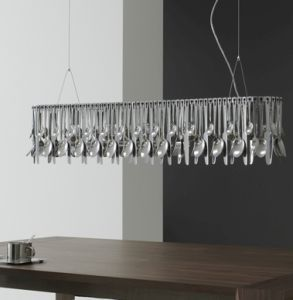 Hungry D76 A03 Large Cutlery Chandelier From Fabbian