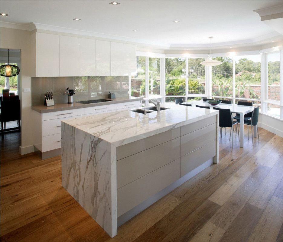 kitchen best design ideas of stunning modern kitchens divine rectangle shape marble kitchen on kitchen ideas modern id=94149