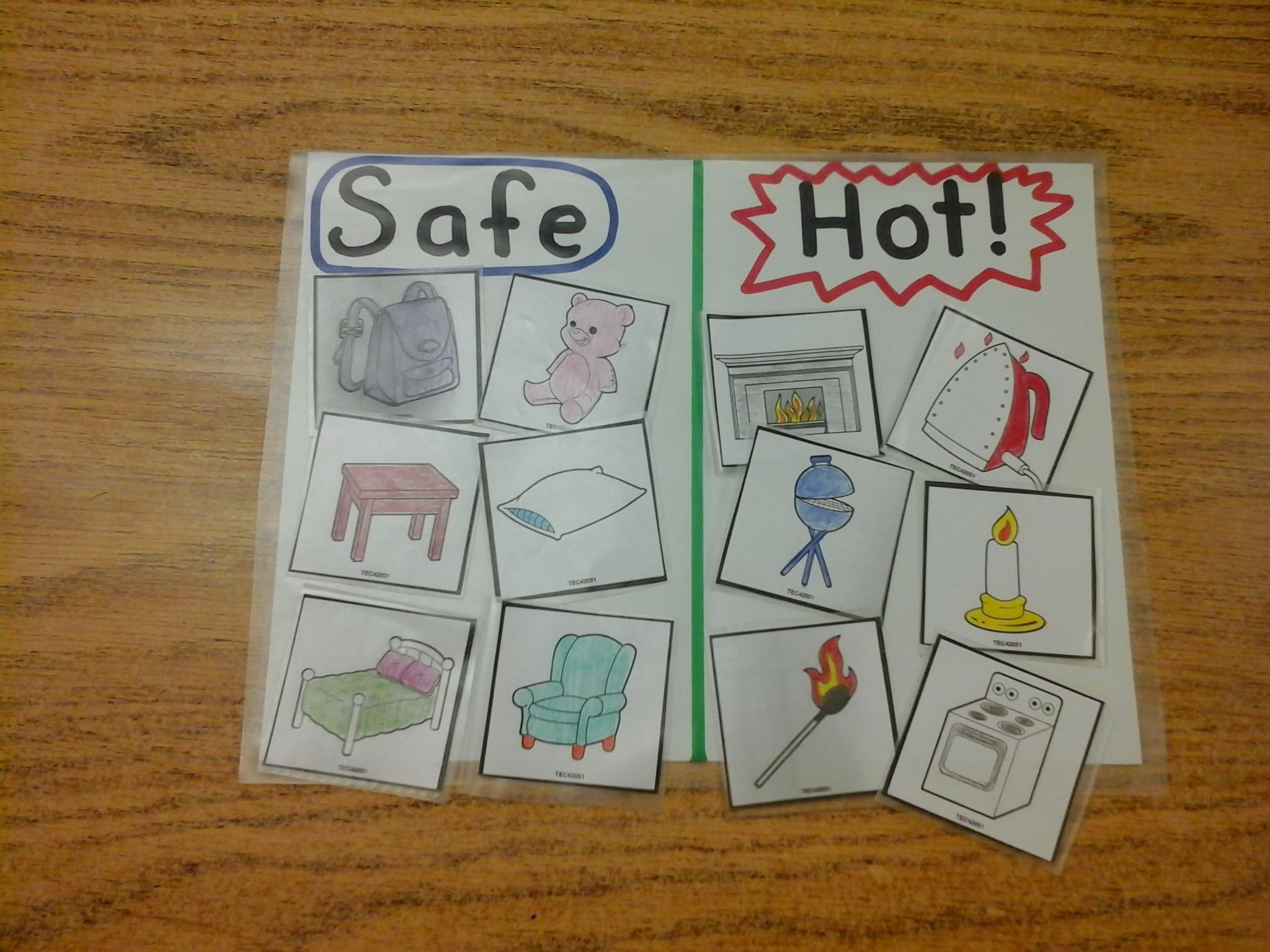 What S Safe Whats Hot Sorting Game For Fire Safety Week