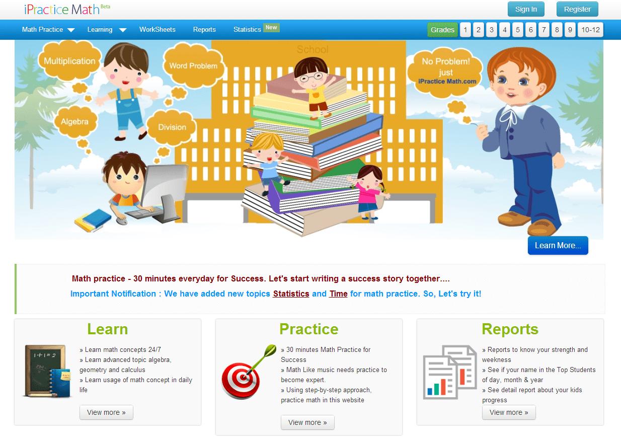 Learning Never Stops 3 More Math Websites For Teachers