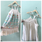 Anthro Embroidered Dress Dress brands Size and Anthropologie