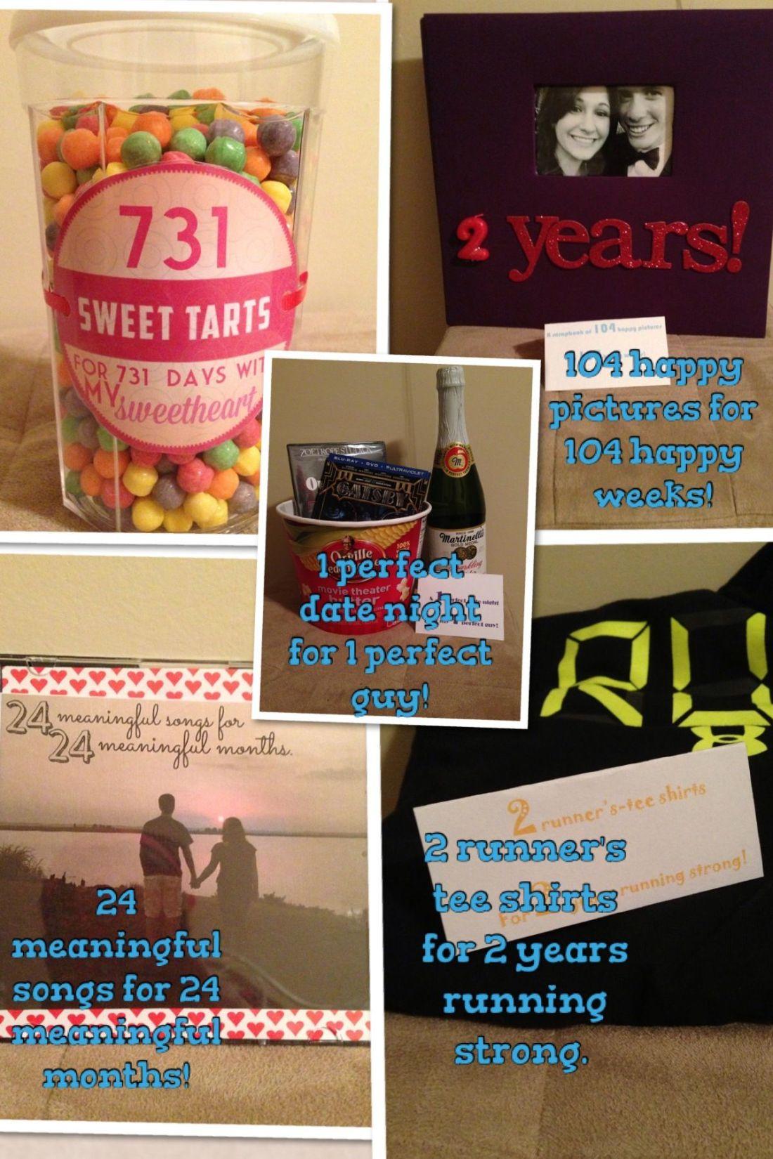 2 year anniversary for my boyfriend gift ideas so