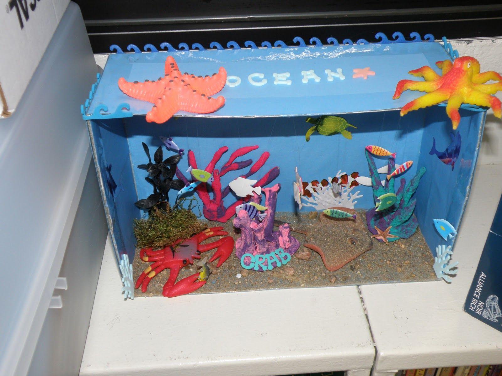 Mrs Robson S Room Under The Sea Ocean Dioramas